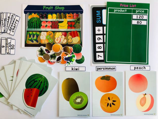 pic card_fruit shop_A4_A5_laminated