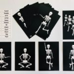 pic card_skeleton exercise_laminated