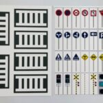 pic cards_road sign_Japanese_laminated